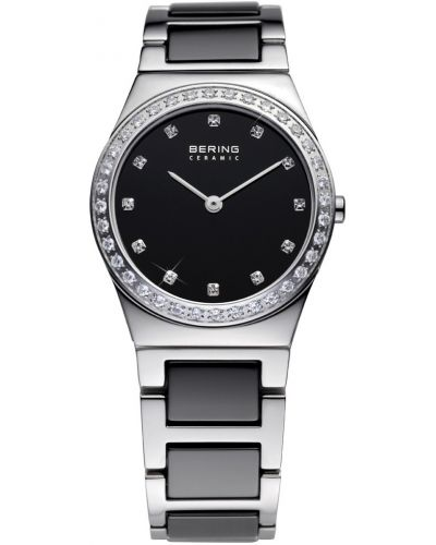 Womens Bering Ceramic Crystal set black 32430-742 Watch