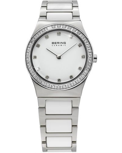 Womens Bering Ceramic crystal set white stainless steel 32430-754 Watch