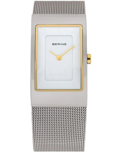 Womens Bering Classic stainless steel white milanese strap 10222-010 Watch