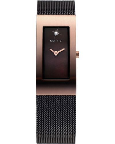 Womens Bering Classic Rose gold brown stainless steel 10817-262 Watch