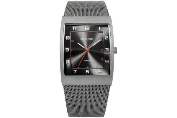 Mens Bering Titanium Watch 11233-077