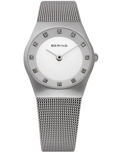 Womens Bering Classic Stainless steel crystal set 11927-000 Watch