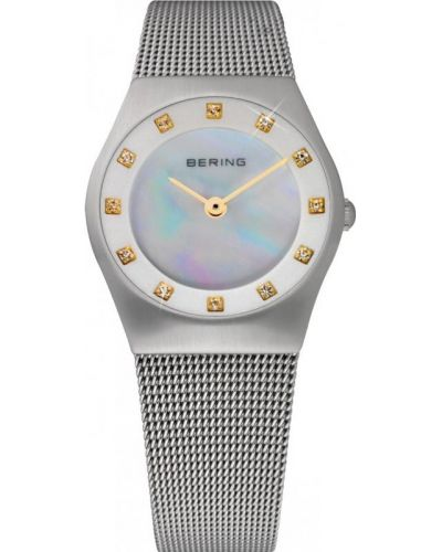 Womens Bering Classic crystal set mother of pearl 11927-004 Watch