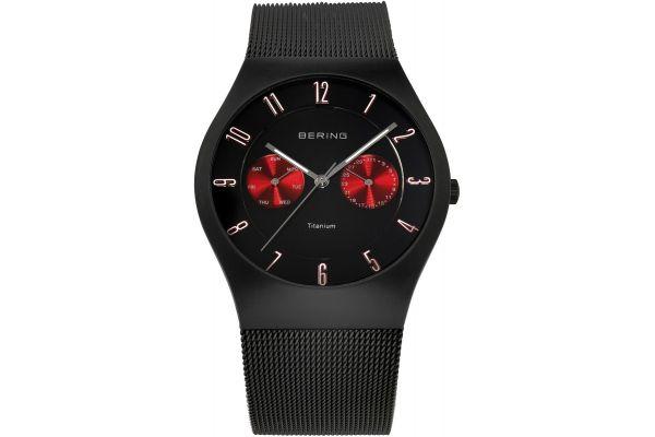 Mens Bering Titanium Watch 11939-229