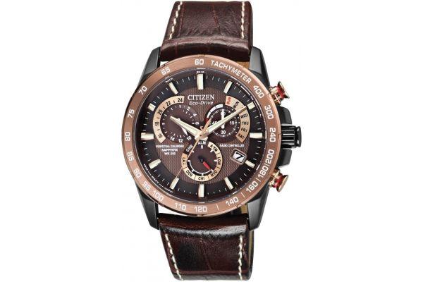 Mens Citizen Perpetual Calendar Watch AT4006-06X
