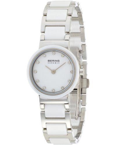 Womens Bering Ceramic crystal set white 11422-754 Watch