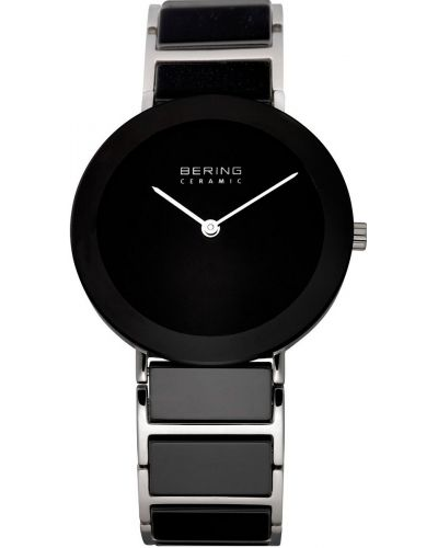 Womens Bering Ceramic Plain black 11435-742 Watch