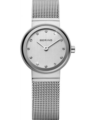 Womens Bering Classic stainless steel crystal set 10122-000 Watch