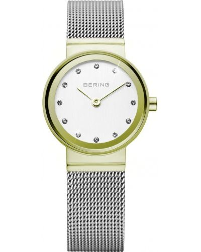 Womens Bering Classic Stainless steel gold plated 10122-001 Watch