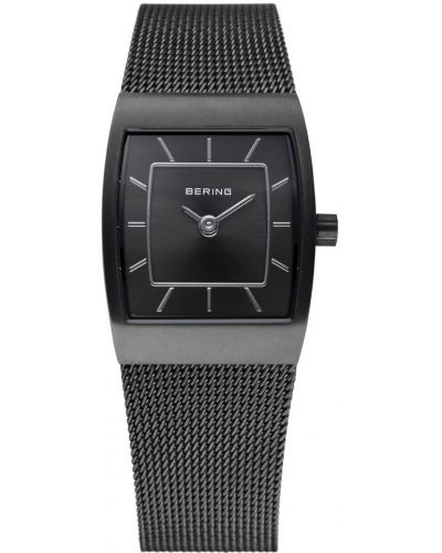 Womens Bering Classic black stainless steel milanese strap 11219-077 Watch