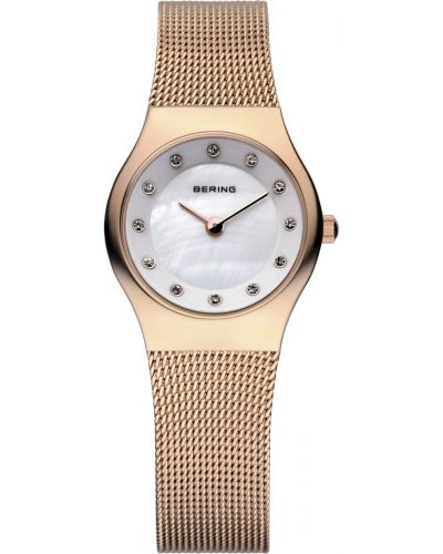 Womens Bering Classic crystal set rose gold 11923-366 Watch