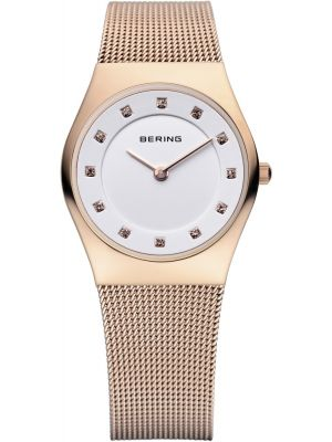 Womens Bering Classic Crystal set rose gold 11927-366 Watch
