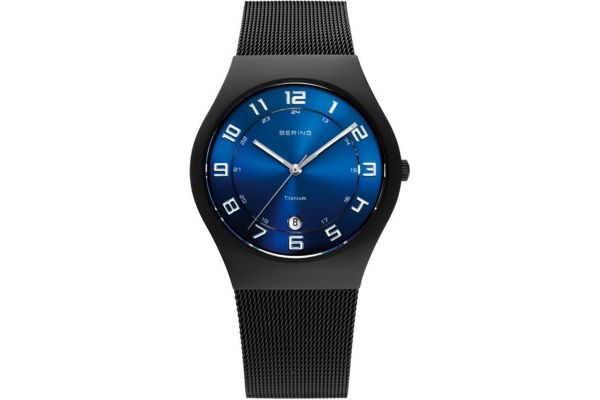 Mens Bering Titanium Watch 11937-227