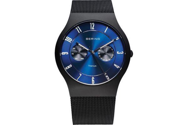 Mens Bering Titanium Watch 11939-078