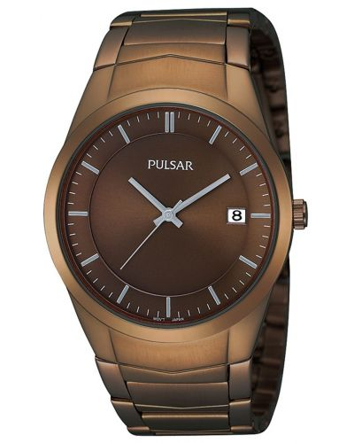 Mens Pulsar  Classic Bronze stainless steel PS9155X1 Watch