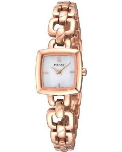 Womens Pulsar  Dress Wear rose gold PEGG60X1 Watch