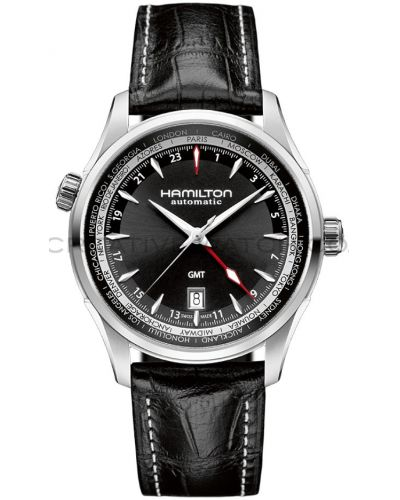 Mens Hamilton American Classic Jazzmaster GMT Automatic H32695731 Watch