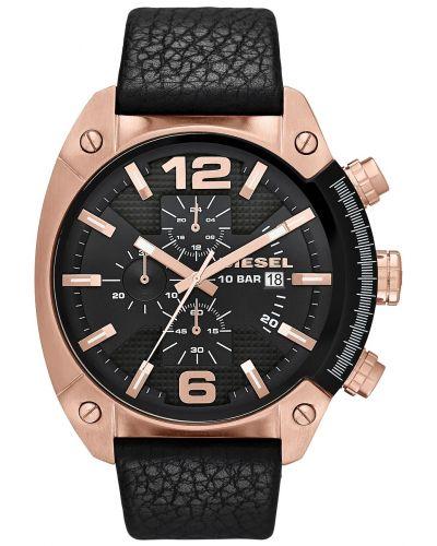 Mens Diesel Overflow large rose gold chronograph DZ4297 Watch