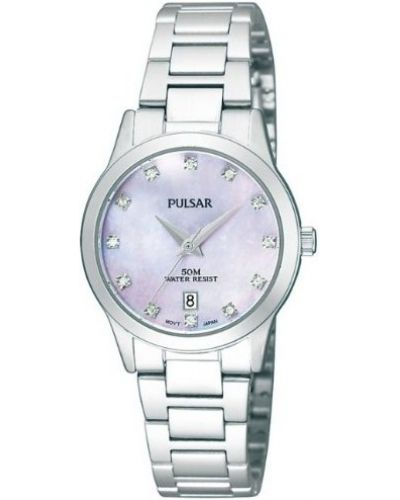 Womens Pulsar  Dress Wear stainless steel crystal set PH7311X1 Watch