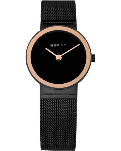 Womens Bering Classic Black stainless steel milanese strap 10126-226 Watch