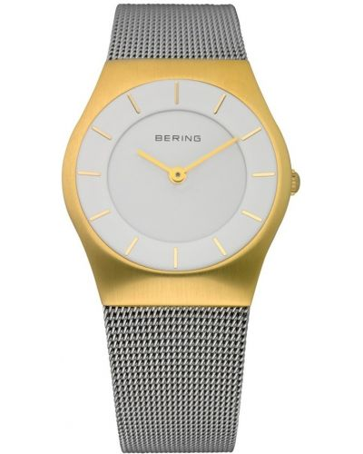 Womens Bering Classic Stainless steel gold highlighted 11930-010 Watch