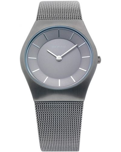Womens Bering Classic Grey stainless steel milanese strap 11930-077 Watch
