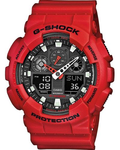 Mens Casio G Shock GA-100B-4AER Watch