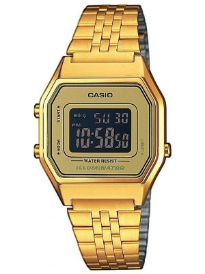 Unisex Casio Classic Retro Illuminator LA680WEGA-9BER Watch