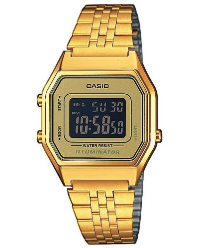 Unisex Casio Classic Retro Illuminator LA680WEGA-9BER Watch