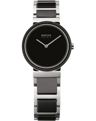 Womens Bering Ceramic stainless steel black 10729-742 Watch