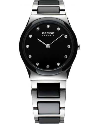 Womens Bering Ceramic black crystal set 32230-742 Watch