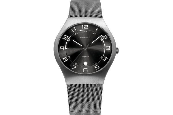 Mens Bering Titanium Watch 11937-077
