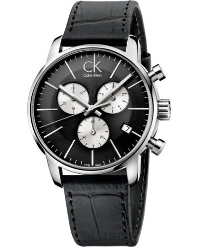 Mens Calvin Klein CITY Chronograph K2G271CX Watch