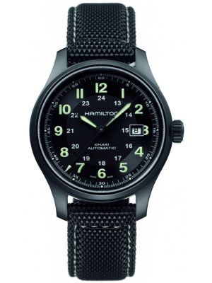Mens Hamilton Khaki Field Titanium H70575733 Watch