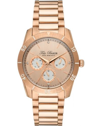 Womens Ted Baker Rose gold classic TE4084 Watch