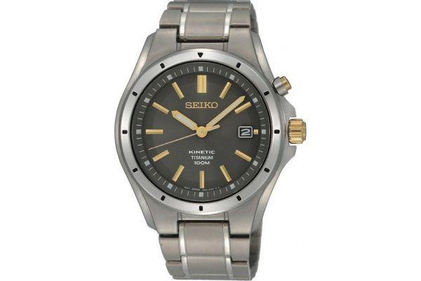 Mens Seiko Kinetic Watch SKA495P1