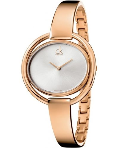 Womens Calvin Klein IMPETUOUS rose gold plated K4F2N616 Watch