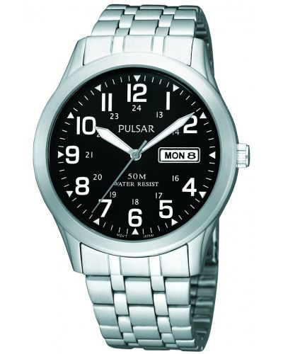 Mens Pulsar  Classic Stainless steel PXN181X1 Watch