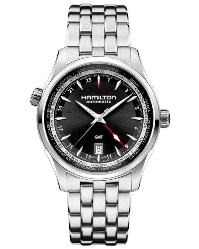 Mens Hamilton American Classic Jazzmaster GMT Auto H32695131 Watch