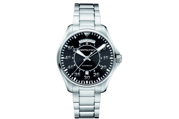 Mens Hamilton Khaki Aviation Watch H64615135