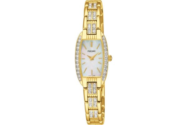 Womens Pulsar  Dress Wear Watch PEG988X1