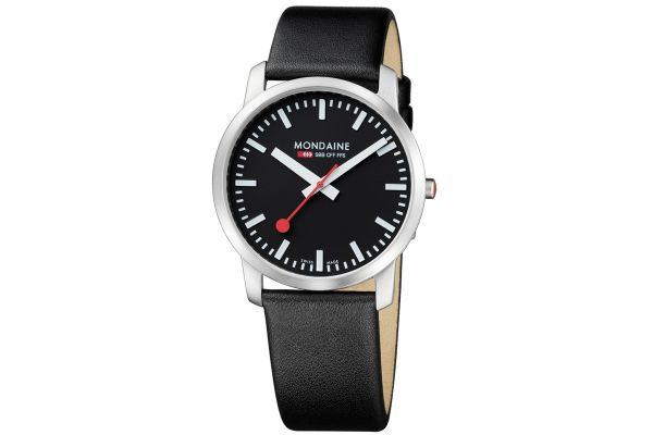 Mens Mondaine Simply Elegant Watch A638.30350.14SBB