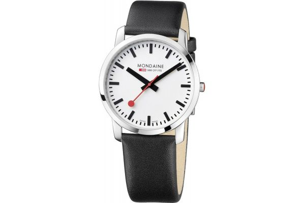 Mens Mondaine Simply Elegant Watch A638.30350.11SBB