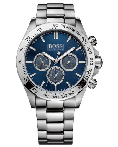 Mens Hugo Boss HB3060 Blue chronograph stainless steel  1512963 Watch
