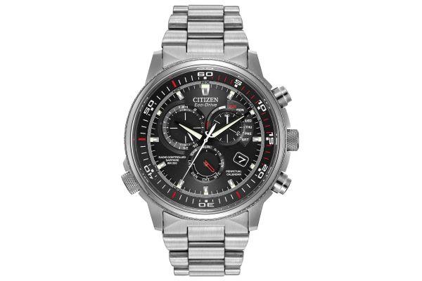 Mens Citizen Nighthawk A-T Watch AT4110-55E