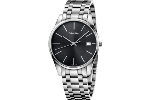 Mens Calvin Klein TIME Watch K4N21141