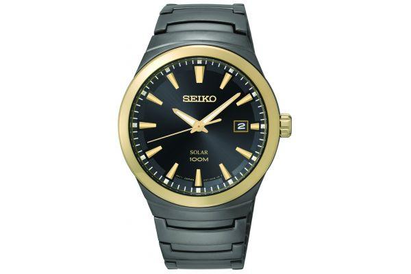 Mens Seiko Solar Watch SNE252P1