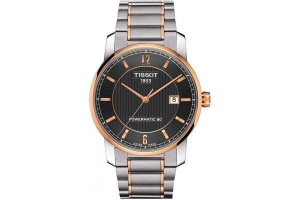 Mens Tissot Titanium Watch T087.407.55.067.00