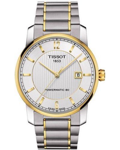 Mens Tissot Titanium Auto Powermatic 80 T087.407.55.037.00 Watch