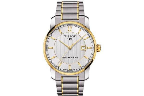 Mens Tissot Titanium Watch T087.407.55.037.00